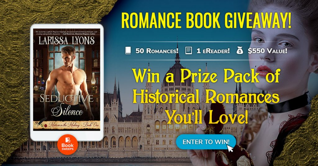 BookSweeps Historical Romance Contest graphic