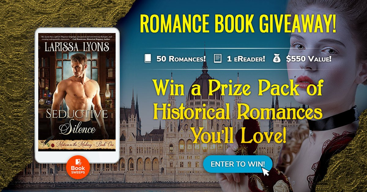 Win 50 Free Historical Romance Books and an eReader