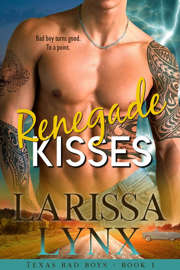 BOOK RELEASE: Renegade Kisses by Larissa Lynx